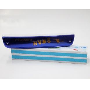 天鹅 24孔 蓝色口琴