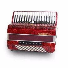 鹦鹉120贝斯4排簧手风琴