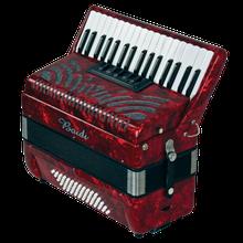 佰笛手风琴60贝斯